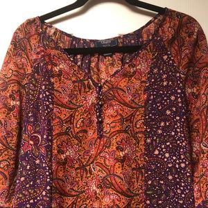 Chaps Tops - Chaps petite large top